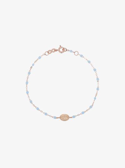 18K Rose Gold Madone 17 CM Beaded Bracelet