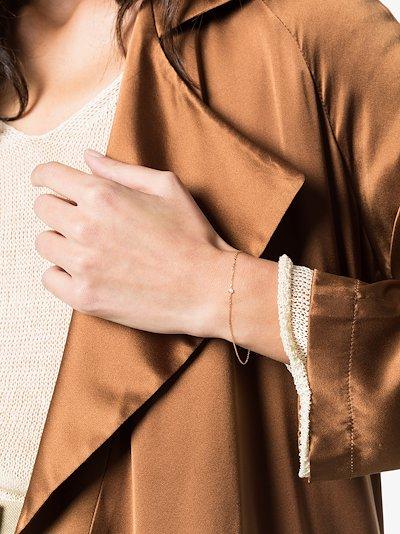 18K yellow gold Dot diamond bracelet