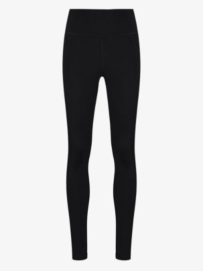 Compressive full-length leggings