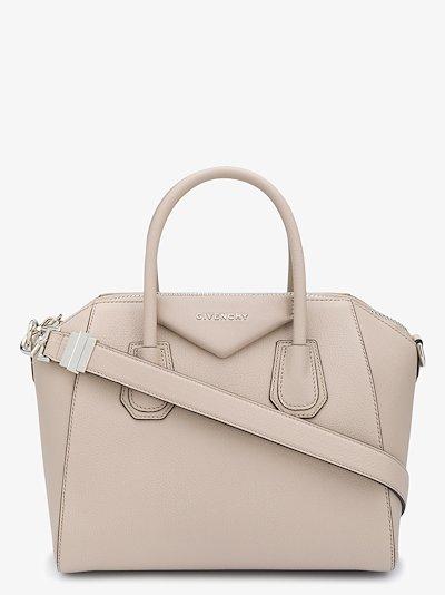 Antigona leather tote bag