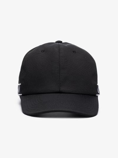 black 4G webbing cap
