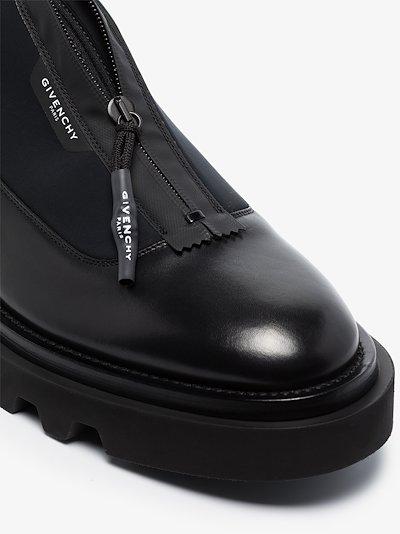 black Combat Derby shoes