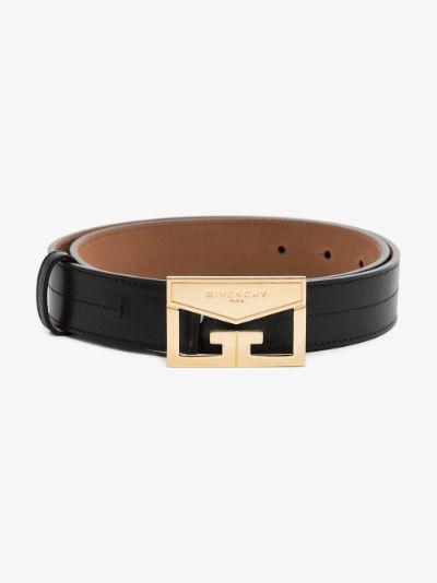 Black Mystic leather belt