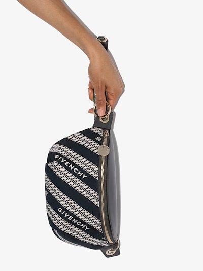 blue Bond chain cross body bag