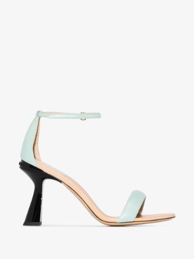 blue Carène 95 leather sandals