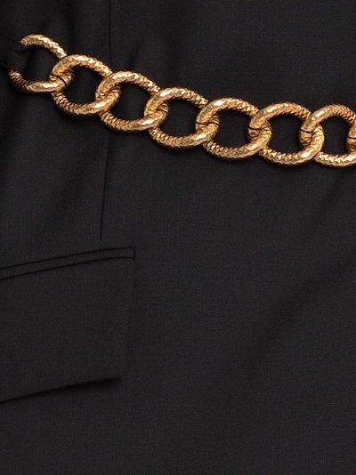 chain belt blazer
