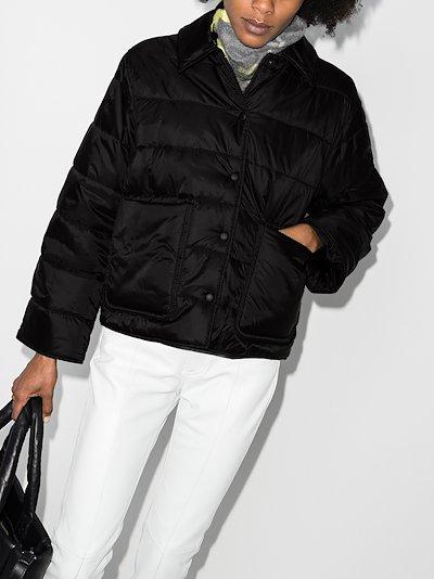 logo puffer jacket