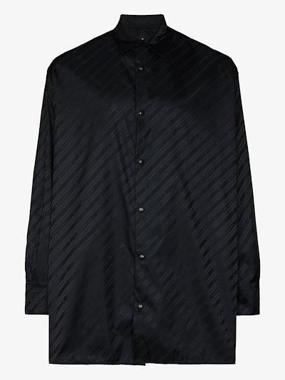 monogram button-up Shirt