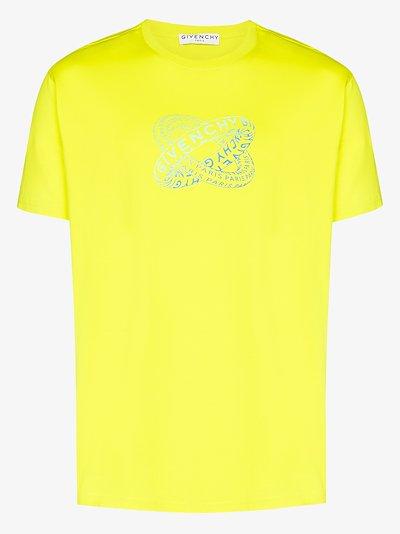 Rings logo cotton t-shirt