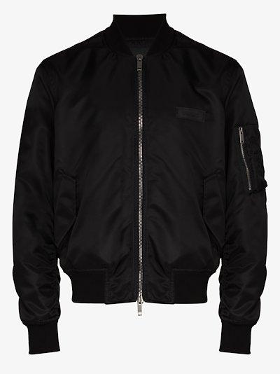 X Browns 50 address logo bomber jacket