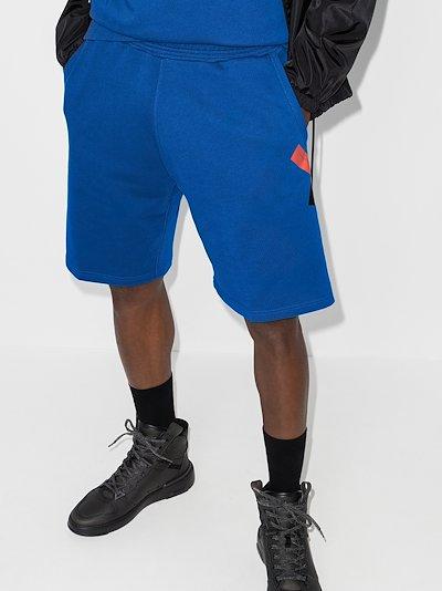 X Browns 50 Address logo track shorts