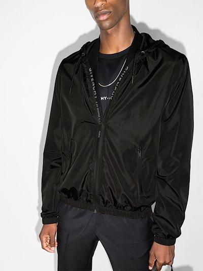 X Browns 50 Address logo windbreaker jacket