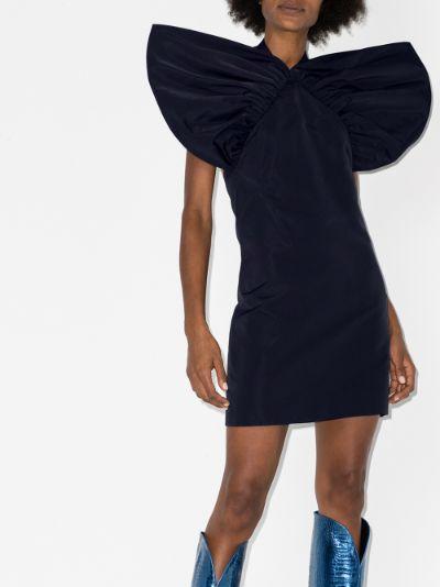 X Browns 50 halterneck mini dress