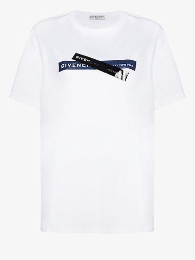 X Browns 50 logo print T-shirt