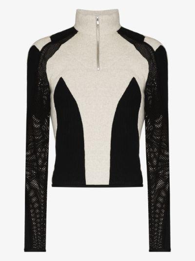 Atris panelled sweater