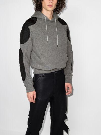 Faruk patch detail hoodie