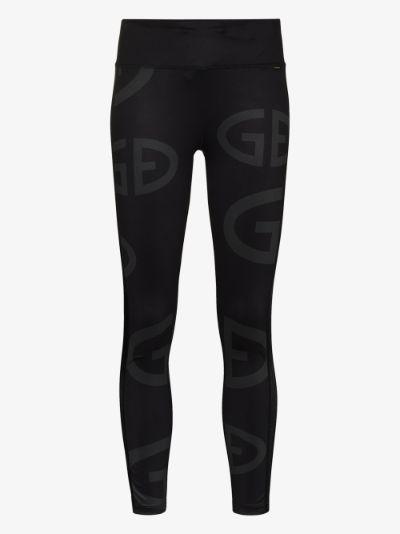 Loula logo print leggings