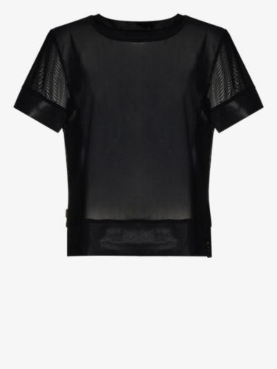 Maria power mesh T-shirt