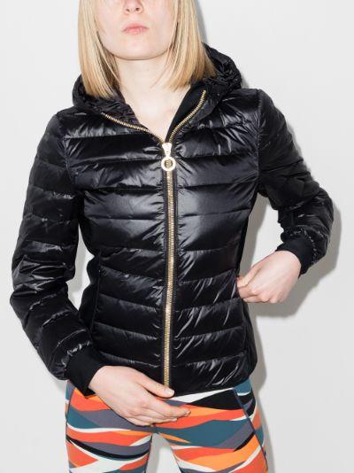 Nadia lightweight zip-up puffer jacket