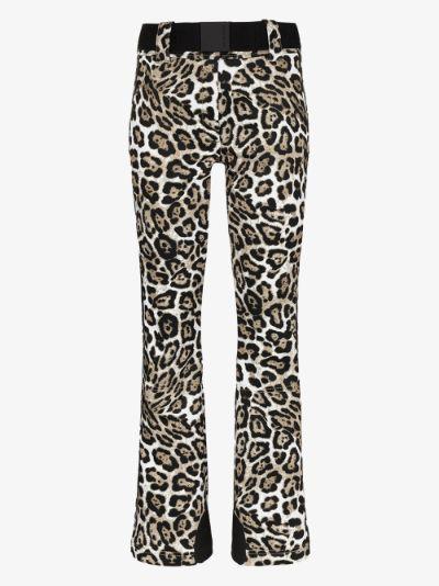 Roar leopard print ski pants