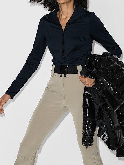 Serena base layer zip front top