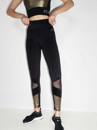 Zamora contrast panel leggings