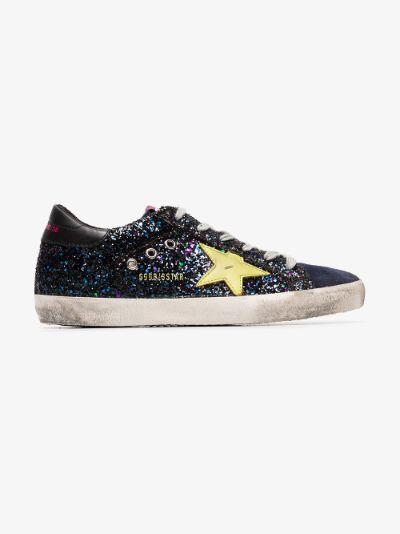 glitter embellished Superstar sneakers