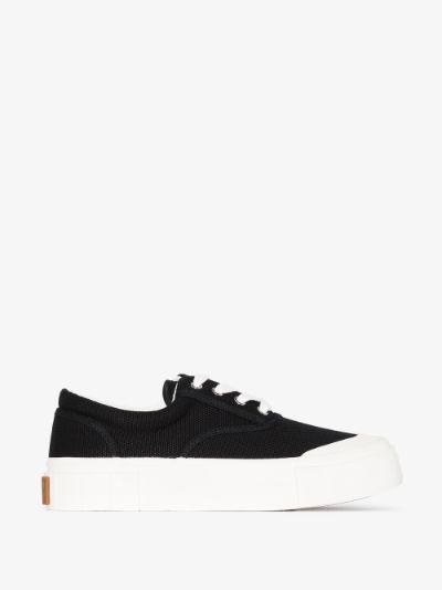 black Opal organic cotton sneakers