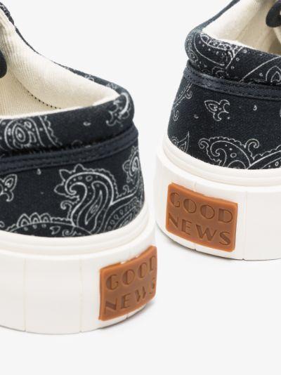 Black Opal Paisley sneakers