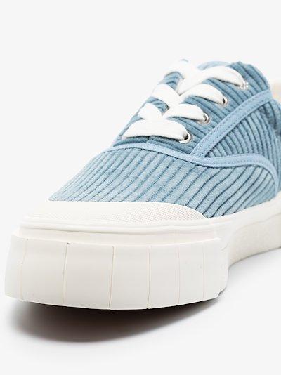 blue Opal corduroy low top sneakers