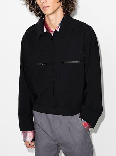 bonded shirt jacket