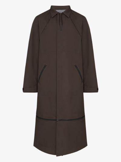 convertible length GORE-TEX car coat