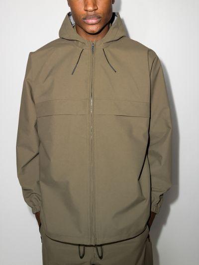 hooded GORE-TEX raincoat