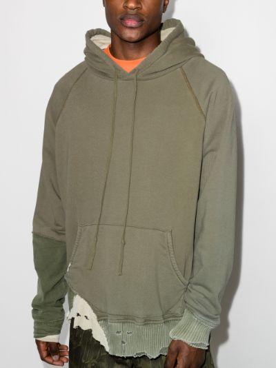 Fragment distressed hoodie
