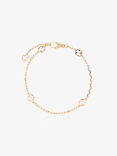 18K yellow gold interlocking GG bracelet