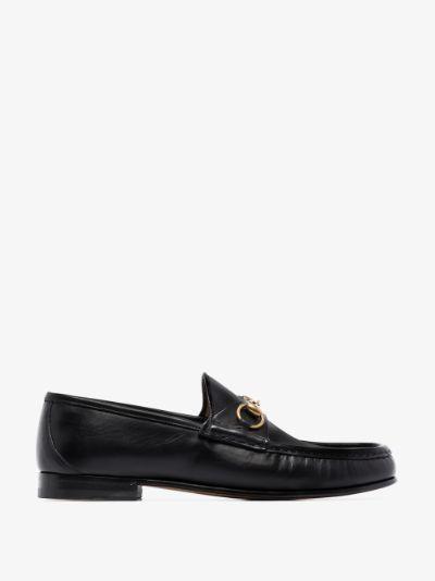 Black 1953 Horsebit leather loafers