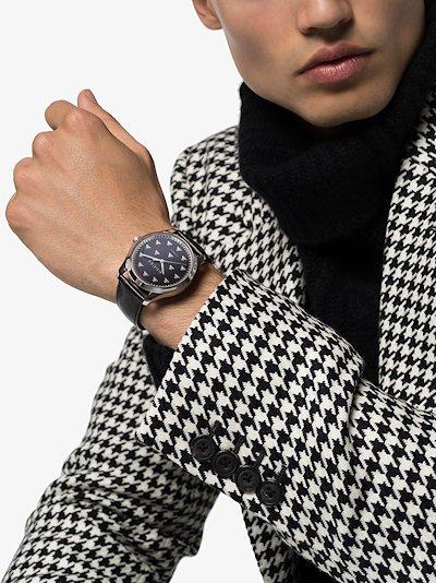 black G-Timeless Watch