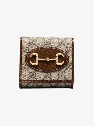 brown Horsebit 1955 GG Supreme wallet