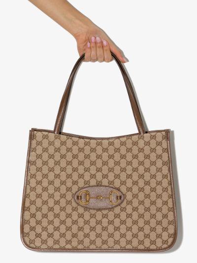 brown Horsebit 1955 tote bag