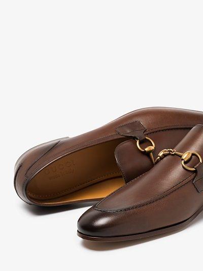 brown Jordaan leather loafers