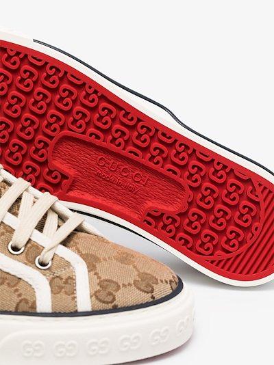 brown Tennis 1977 sneakers