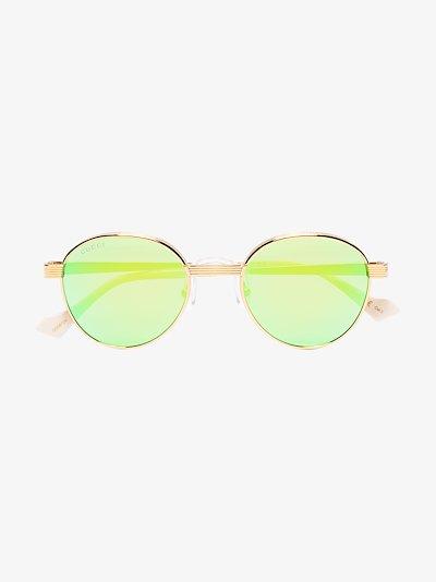 green round sunglasses