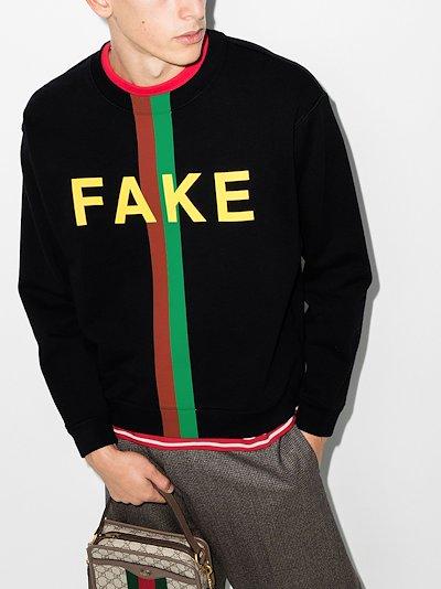 Fake/Not cotton sweatshirt