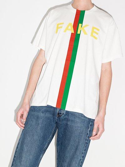 Fake/Not print T-shirt