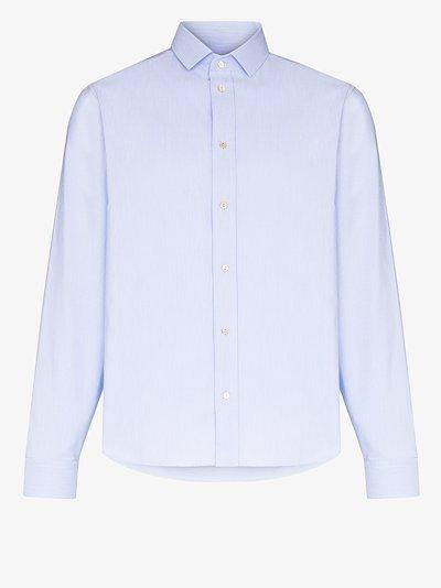 formal button-down cotton shirt