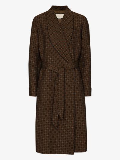GG belted coat