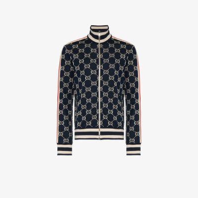 GG jacquard cotton jacket