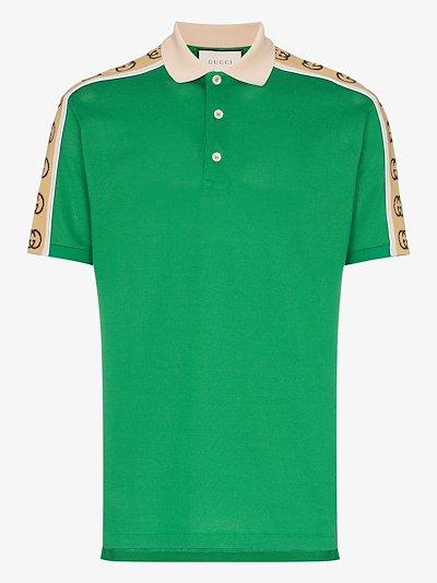 GG stripe polo shirt