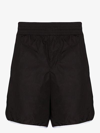 GG stripe swim shorts
