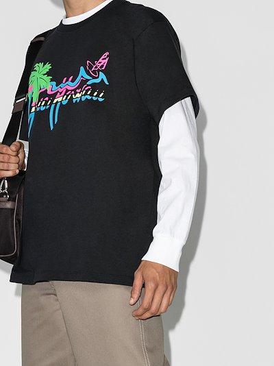 Hawaii logo print T-shirt